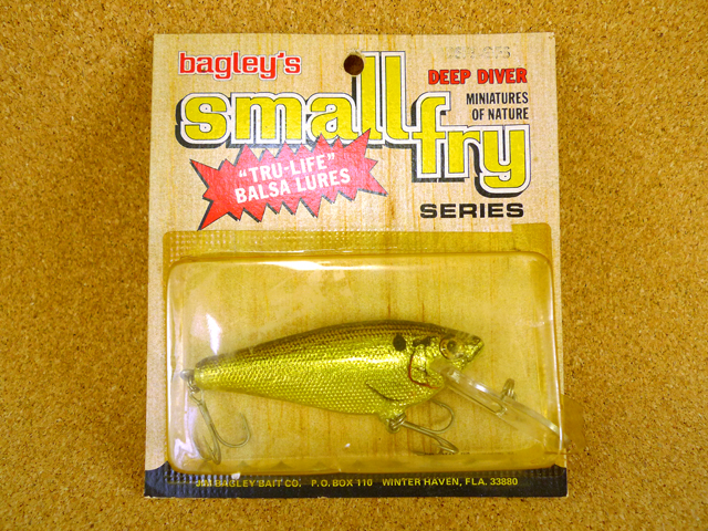 Small Fry-Shad 4SF3 GFS NIP